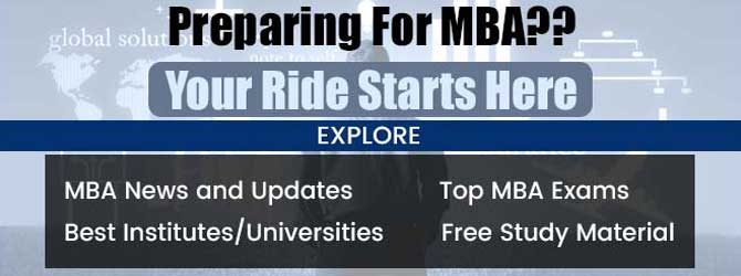 MBA section promotion