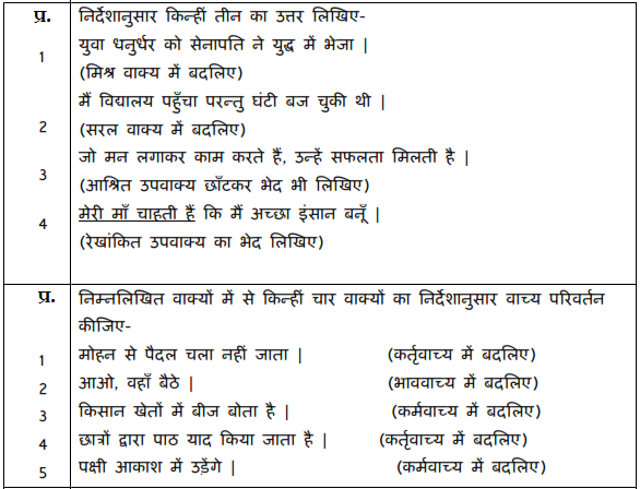 CBSE Sample Paper for Class 10 Hindi A 2019- Download in PDF