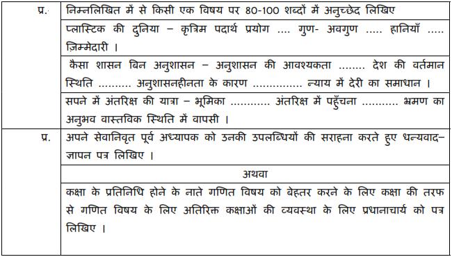 CBSE Class 10 Hindi B Sample Paper 2019 PDF, download