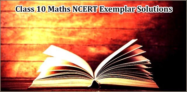 NCERT Exemplar Problems & Solutions for Class 10 Maths