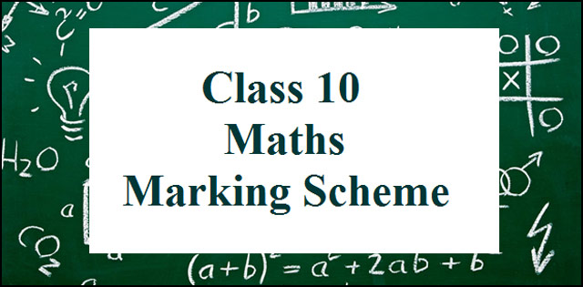 CBSE Class 10 Maths Marking Scheme 2017: Delhi Region