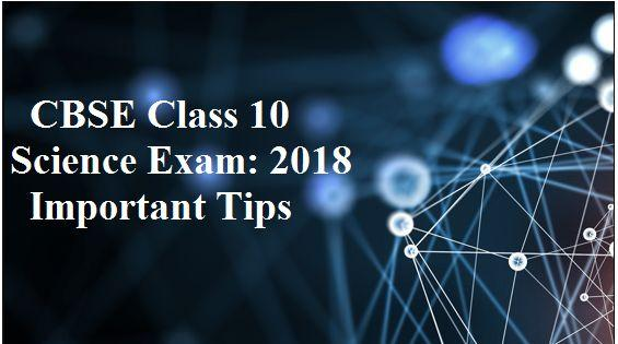 CBSE Class 10 Science Exam: Preparation tips
