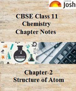 class 11 chemistry chapter notes, structure of atom revision notes, class 11 ncert notes