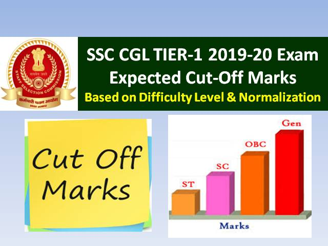SSC CGL Result 2019-20 Tier-1 to be out soon: Check Expected Cutoff & Previous Cutoff Marks