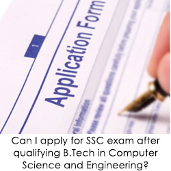 Can I apply for SSC exam