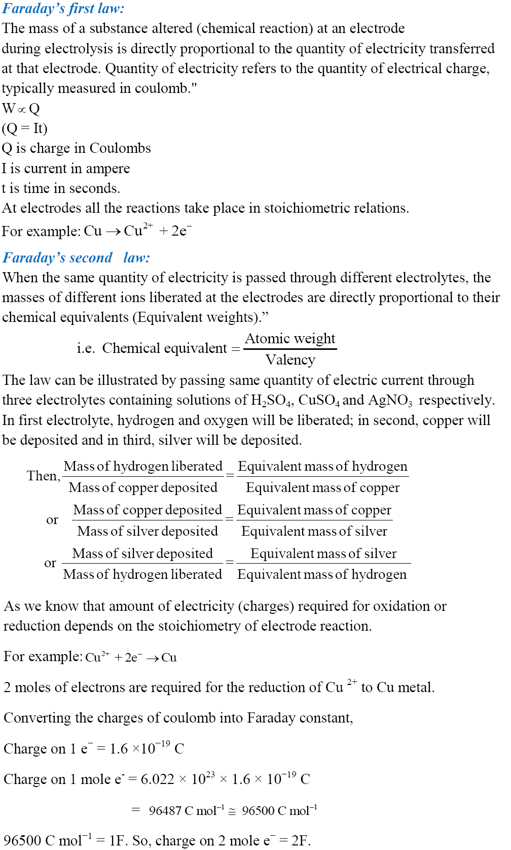 cbse class 12 chemistry notes and Free pdf download of class 12 chemistry revision notes and short key-notes to  score more marks in exams, prepared by expert chemistry teachers from the.