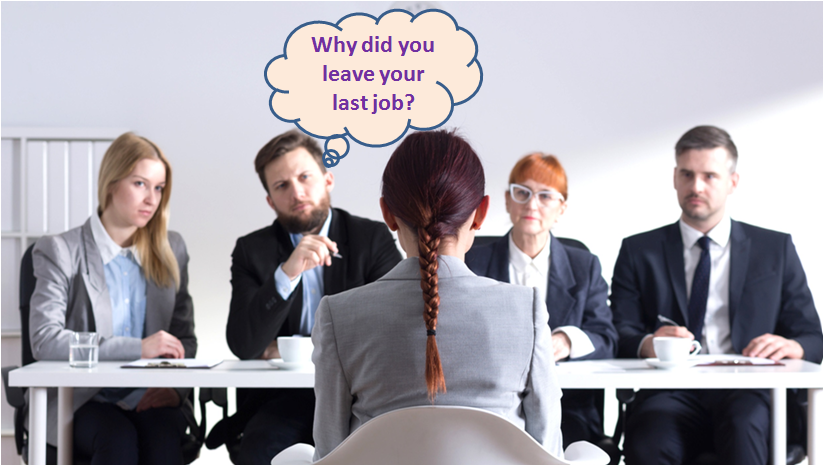 why did you left your last job answer