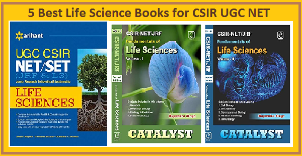 Best books of Life Science for CSIR UGC NET