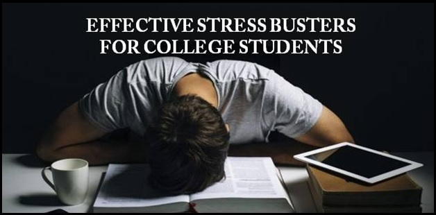 5 Effective stress busters for college students
