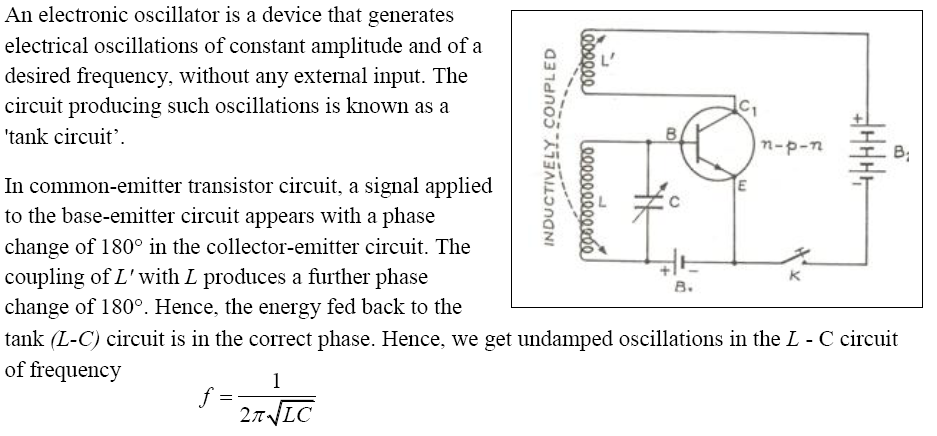 CBSE Class 12th Physics Notes Semiconductor Electronics Part