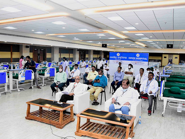 500-Bed Odisha COVID Hospital Becomes Functional In SOA Campus