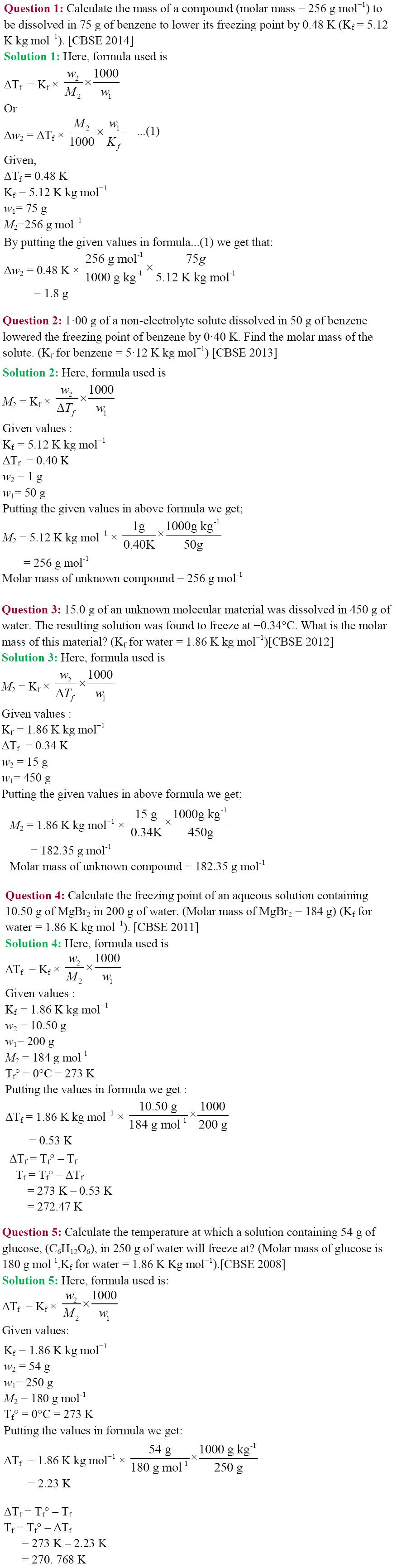 Grade 12 chemistry notes history