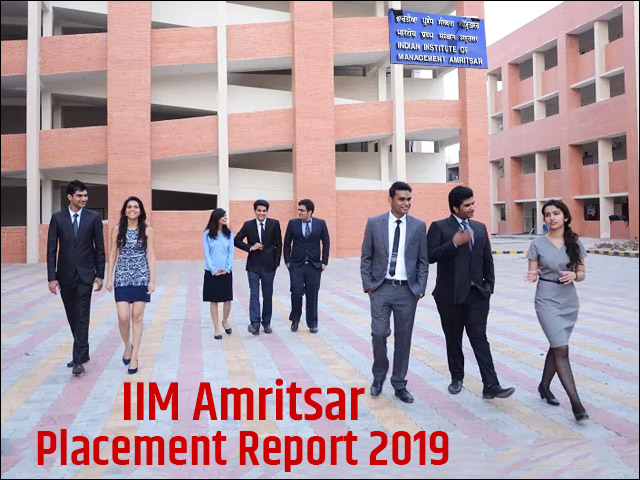 iim amritsar placement report 2019