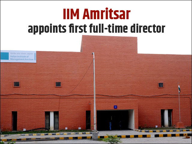 IIM Amritsar appoints first full-time director
