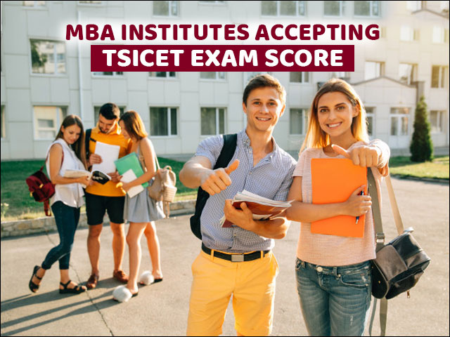 MBA Institutes accepting TSICET Exam Score
