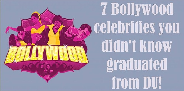 7 Bollywood celebrities you didn't know graduated from DU