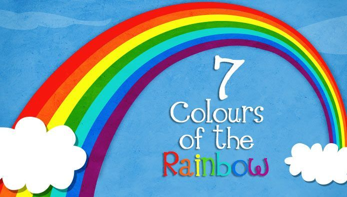 7 colours rainbow