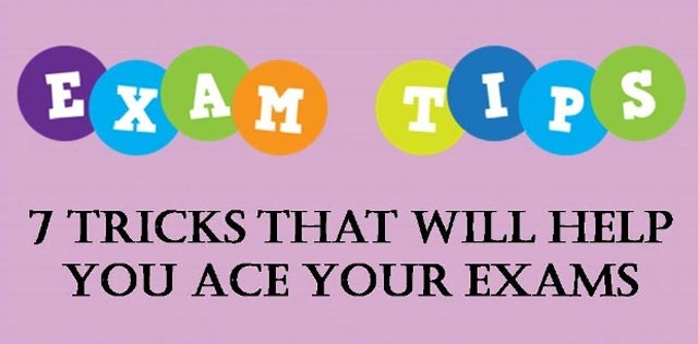 7 tricks that will help you ace your exams