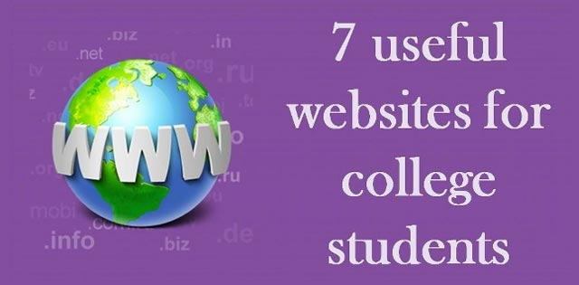 7 useful websites for college students