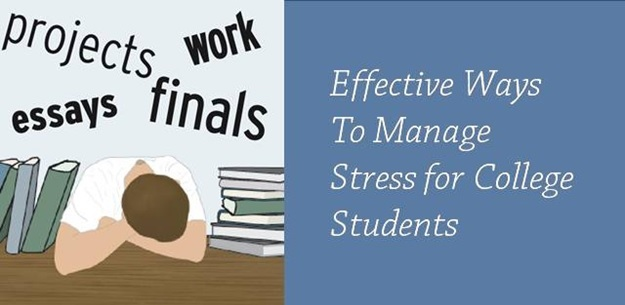 7 ways college students can manage stress effectively