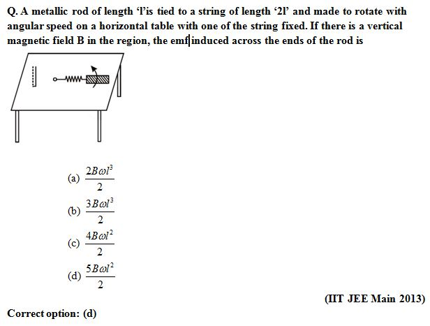 IIT JEE, Tips to guess MCQ