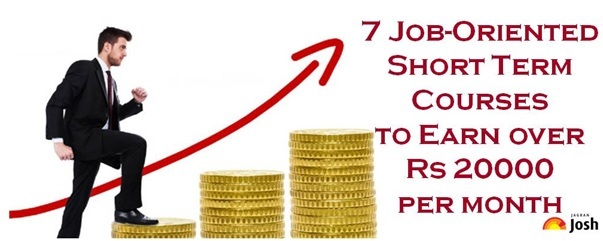 8 Job-Oriented Short Term Courses to Earn Rs 20000 per month