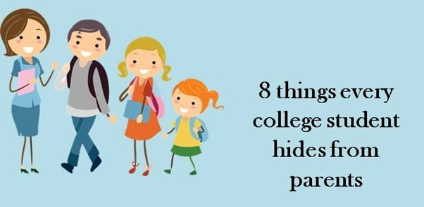 8 things every college student hides from parents