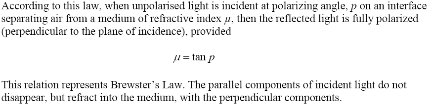 CBSE Class 12th Physics Notes Wave Optics Part II | CBSE Board