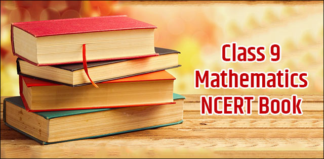 NCERT Book for Class 9 Maths PDF