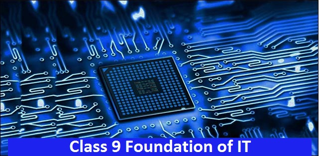 CBSE Class 9 Foundation of Information Technology Syllabus