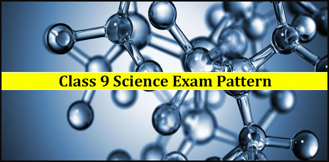 Examination Pattern for CBSE Class 9 Science Exam 2019