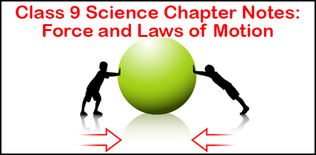 cbse class 9 science chapter 9 notes