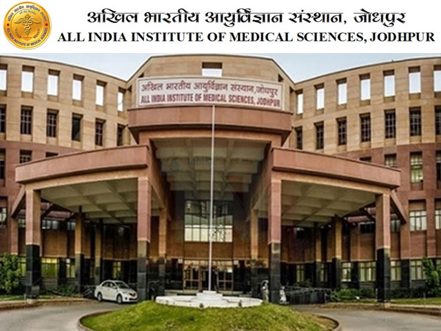 AIIMS, Jodhpur PRO Junior Resident Recruitment 2019