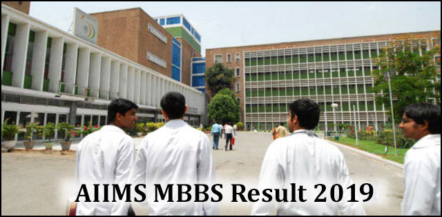 AIIMS Entrance Exam Result 2019, AIIMS MBBS Result 2019