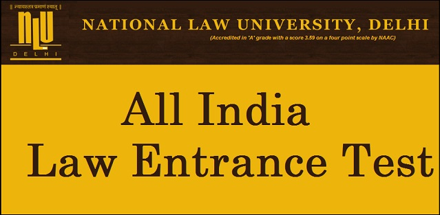 NLU Delhi All India Law Entrance Test