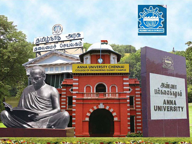 Anna University Project Assistant and Project Technician Job 2019