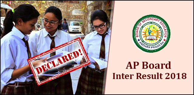 AP Board Intermediate 2nd Year Results 2018 to be declared today at bieap.gov.in