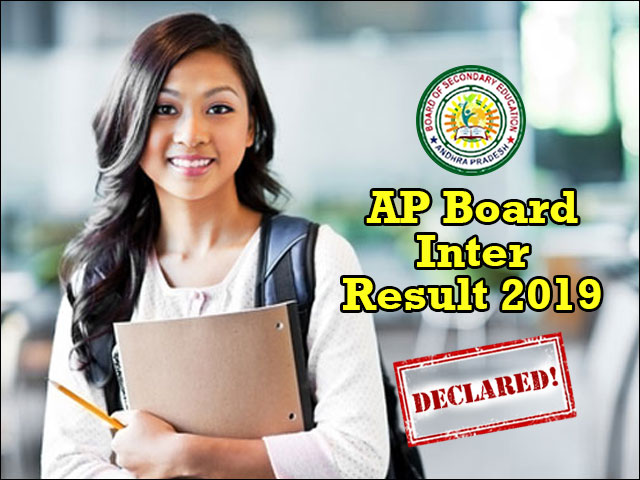 AP Inter Results 2019 Declared: 72 per cent students clear the exam
