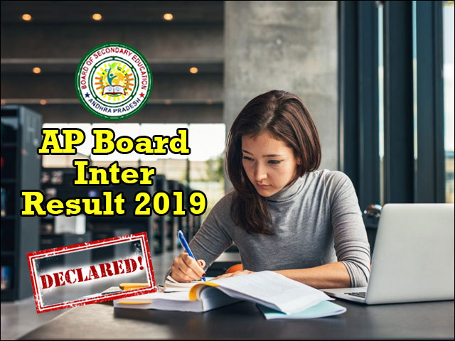 AP Inter Result 2019 to be declared tomorrow