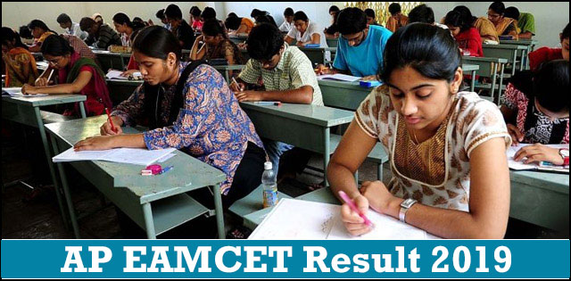 Check AP EAMCET Results 2019, Rank Card, sche ap gov in