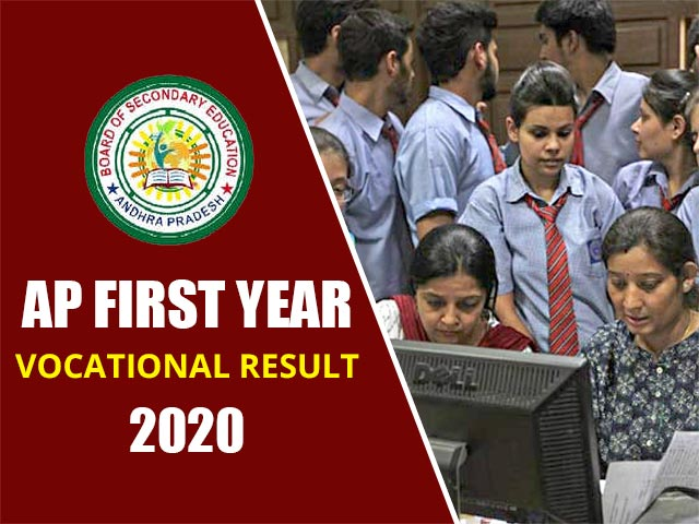 AP Inter First Year Vocational Result 2020