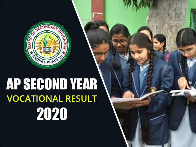 AP Second Year Vocational  Result 2020
