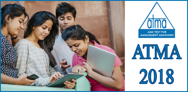 ATMA 2018 RESULT DECLARED
