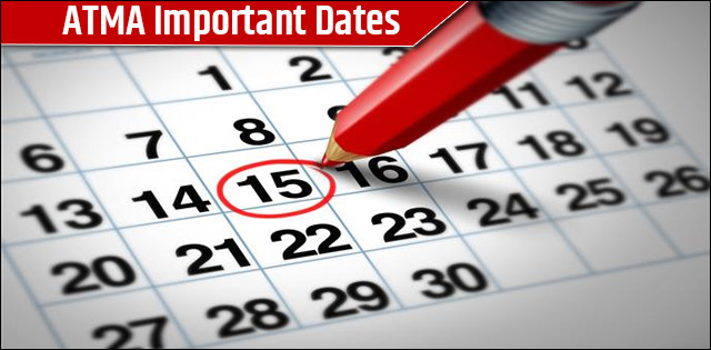 ATMA Exam Important Dates