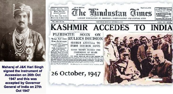 Accession of Jammu and Kashmir