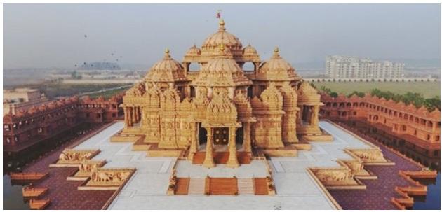 ahmedabad, gujarat, akshardham temple