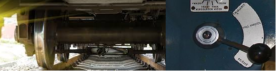 Air Brake system in train
