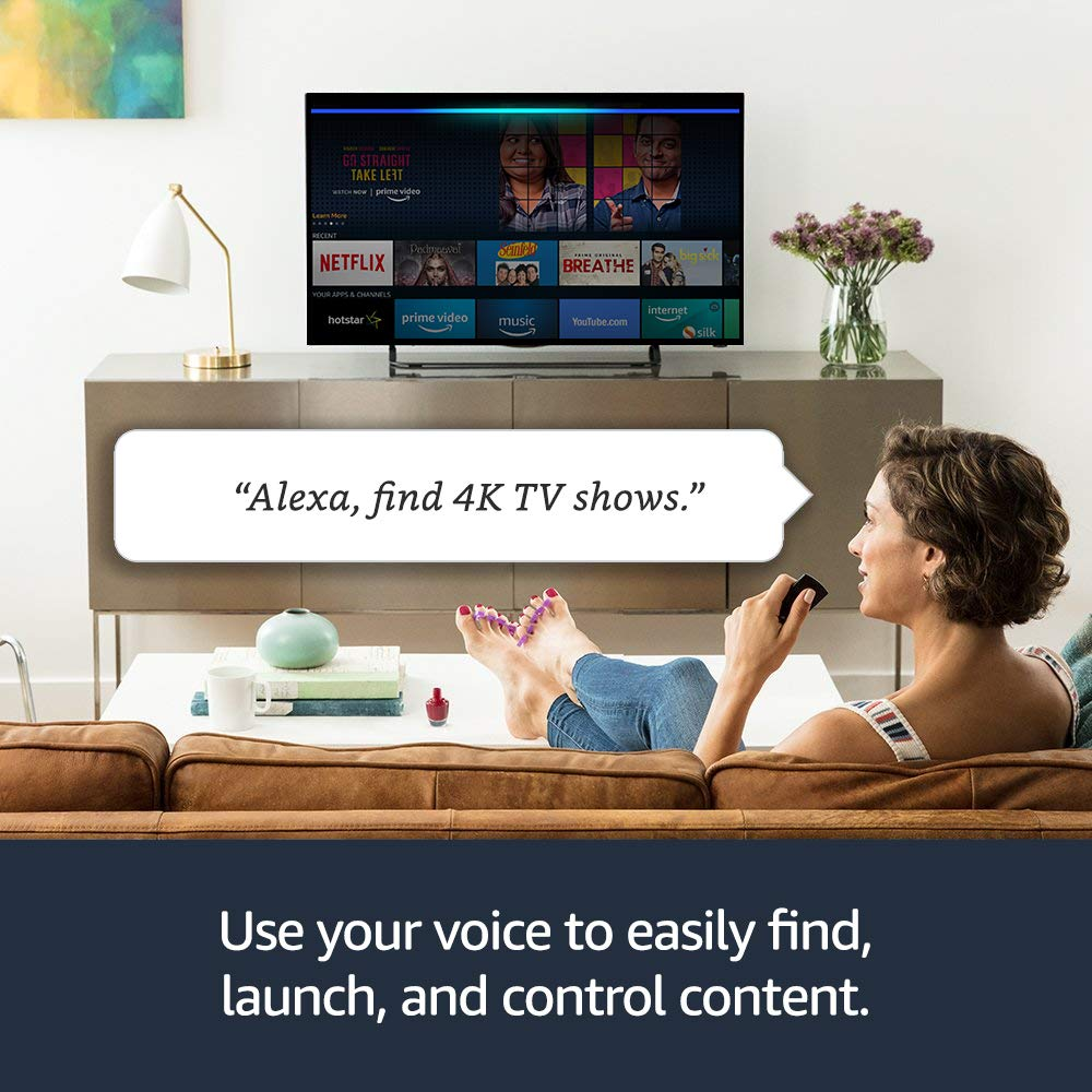 Alexa Enabled Amazon Fire TV Stick: Fire Stick that Follows your Orders