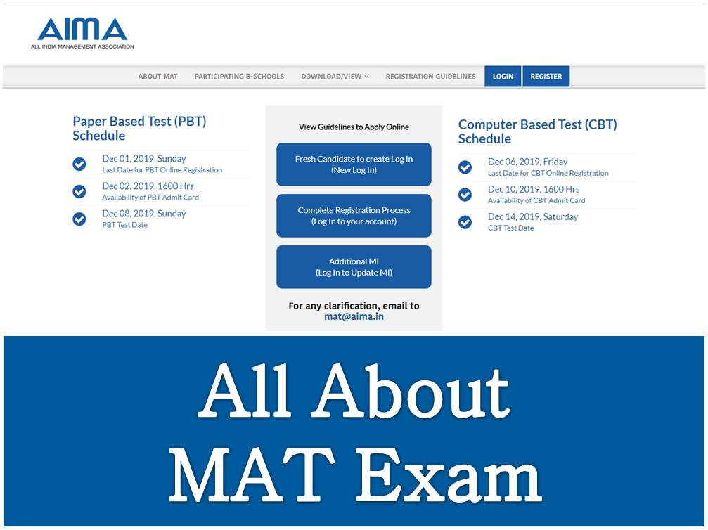 All About MAT Exam