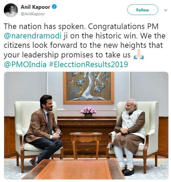 Anil Kapoor Tweet